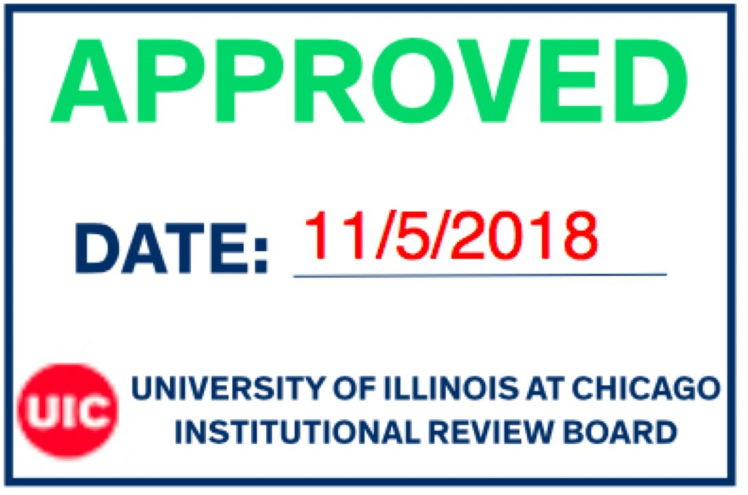 UIC IRB approval stamp